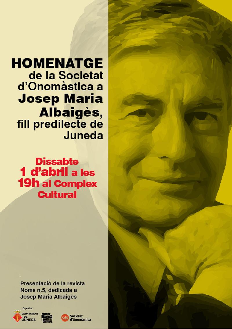 Homenatge A Josep M. Albaigès