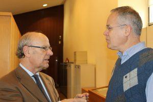 Joan Tort Participa En La Reunió De La Secció D'Onomàstica De L'AVL
