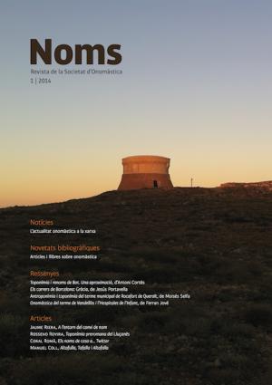 Noms, La Nova Revista De La Societat D'Onomàstica