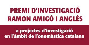 Convocat El Premi D'Investigació Ramon Amigó