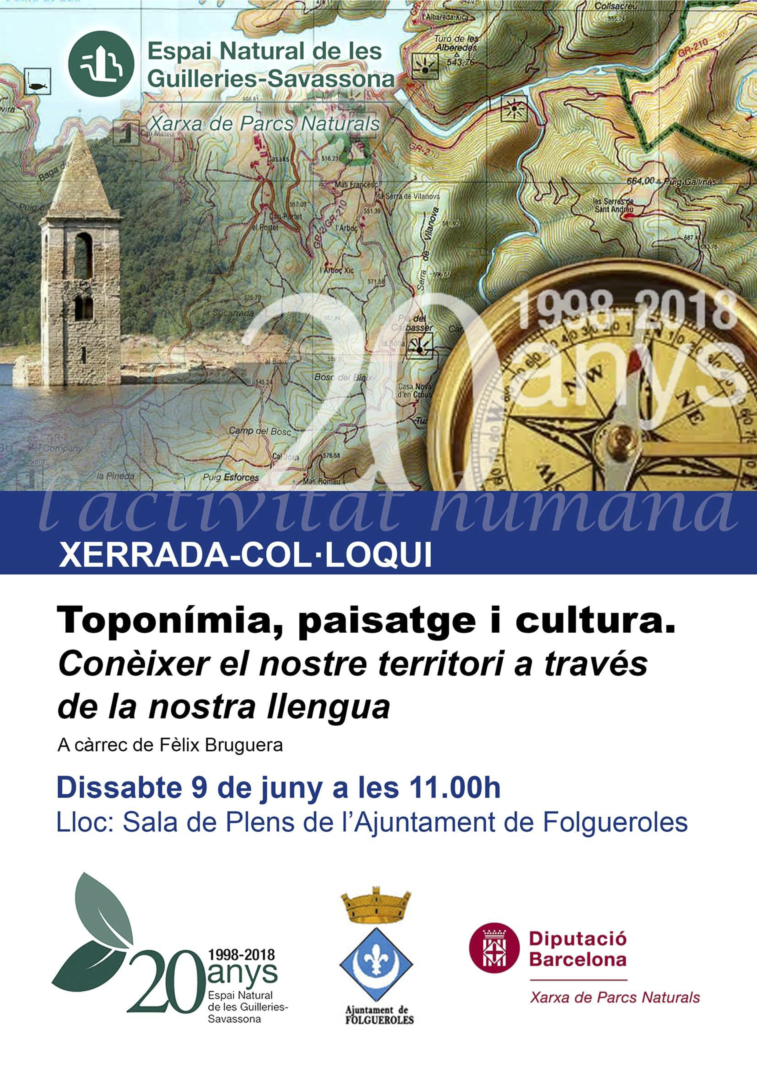 Xerrada De Fèlix Bruguera Sobre Toponímia, Paisatge I Cultura